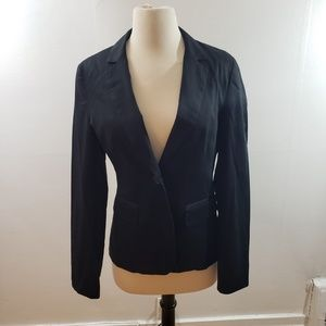 H&M | Black fitted blazer Size 8